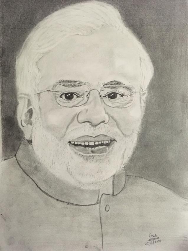 Narendra Modi by Govindbelekar